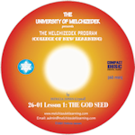 LESSON 01, THE GOD SEED (CD format)