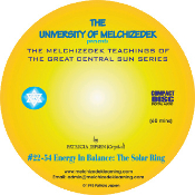 03 ENERGY IN BALANCE:  THE SOLAR RING (CD format)