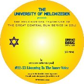 02 LISTENING TO THE INNER VOICE (CD format)