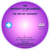 RECORDING 01 - THE NEW COVENANT (CD format)