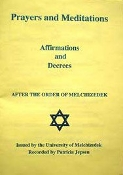 PRAYERS AND MEDITATIONS:  AFFIRMATIONS & DECREES (booklet)