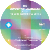 THE RELEASED PRESENCE OF GOD (CD format)